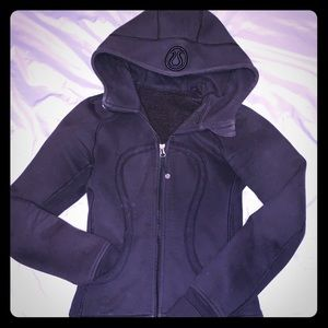 Lululemon Black Zip Sweatshirt size 2
